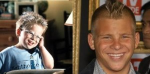 Jonathan Lipnicki, then and now.
